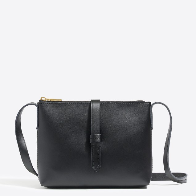 tanger outlets j crew black crossbody mini purse