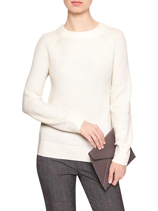 tanger outlets banana republic white tie back sweater