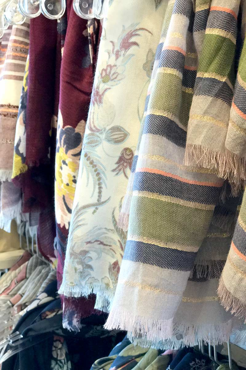 tanger outlets ann taylor assorted patterned scarves