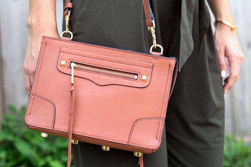 tanger outlets saks off fifth dark rose crossbody purse
