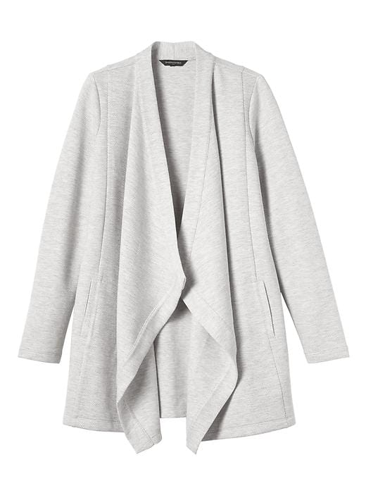 tanger outlets banana republic layered draped cardigan