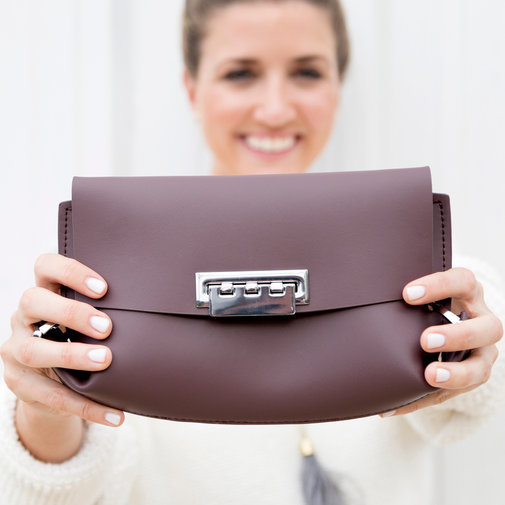 tanger outlets saks off fifth plum crossbody purse