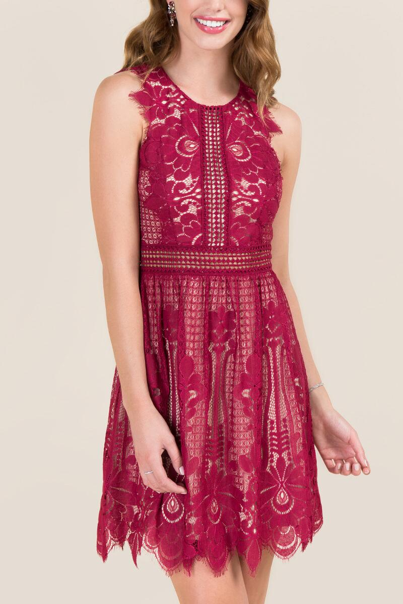 tanger outlets francesca's lace dress