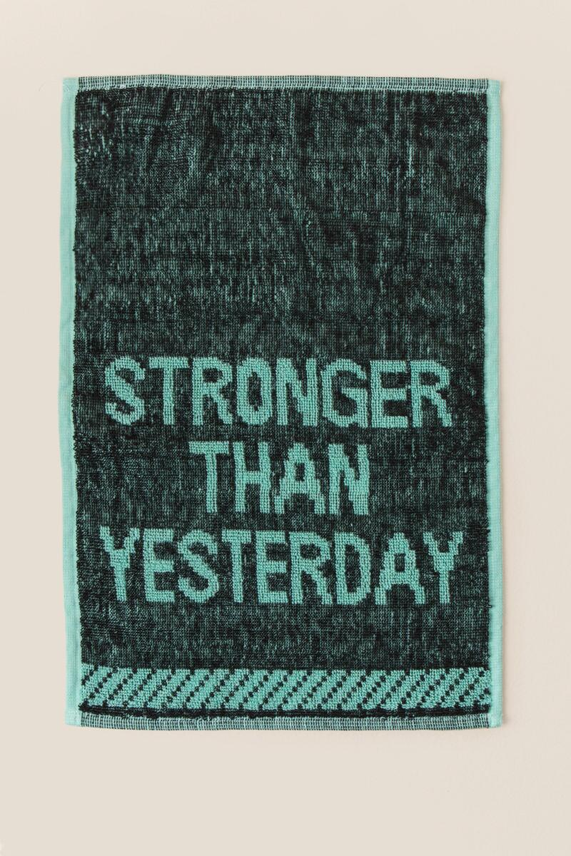 tanger outlets francescas motivational quote towel