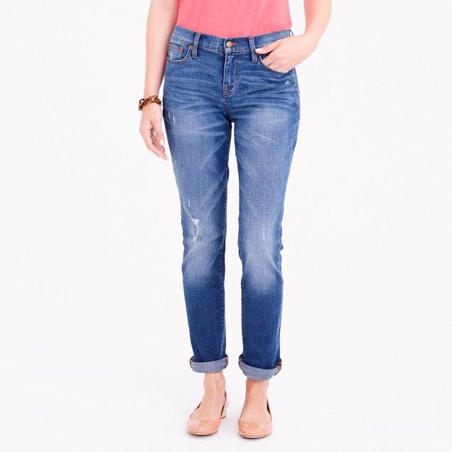 tanger outlets j crew slim light wash boyfriend jeans