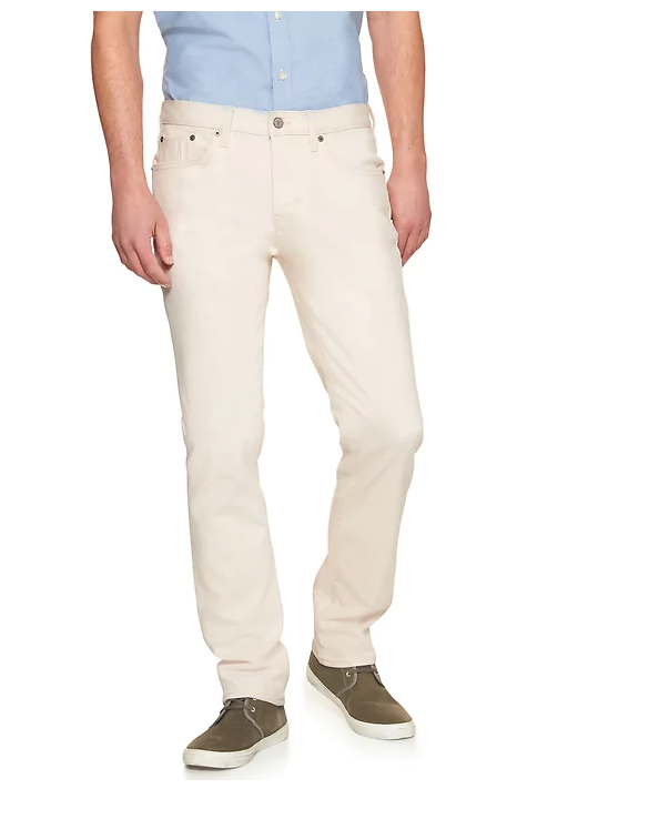 tanger outlets banana republic mens stretch fit casual khaki jean