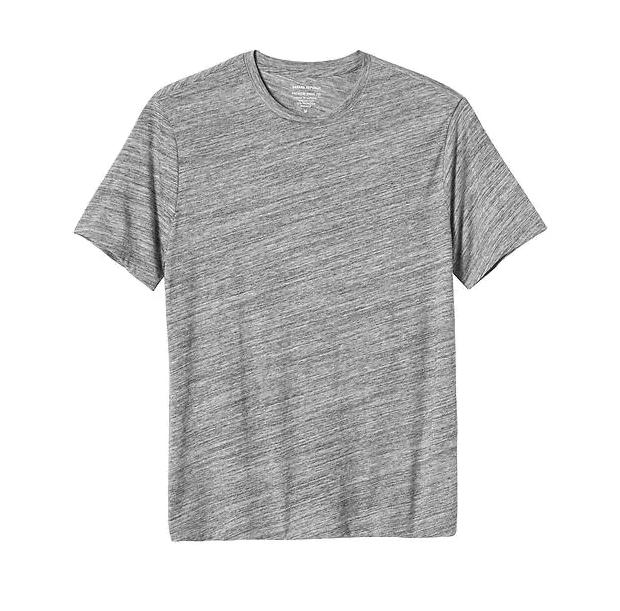 tanger outlets banana republic athleisure mens soft basic t-shirt