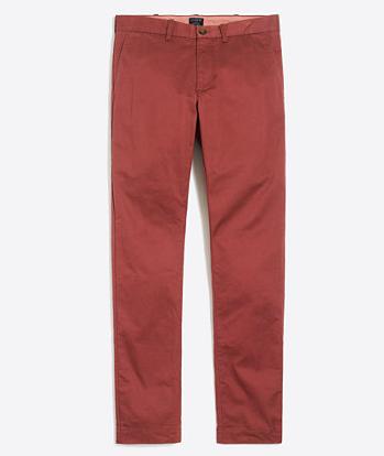 tanger outlets j crew mens slim fit colored pants