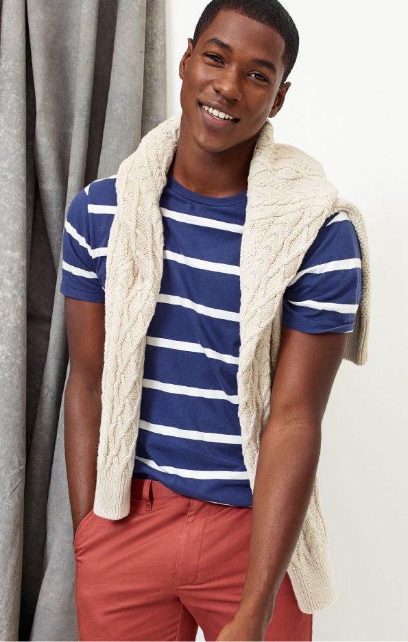 tanger outlets j crew mens cotton striped shirt