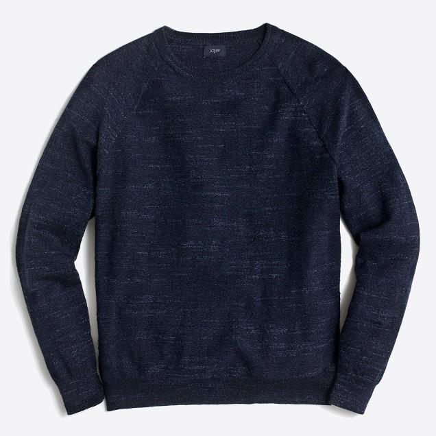 tanger outlets j crew mens basic cotton crewneck sweater