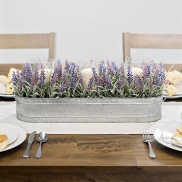 tanger outlets kirkland's spring decor lavender centerpiece
