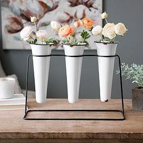 tanger outlets kirkland's spring decor white vase