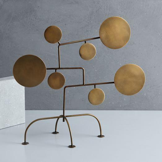 tanger outlets west elm copper decor sculpture