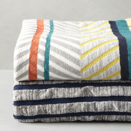 tanger outlets west elm stripe throw