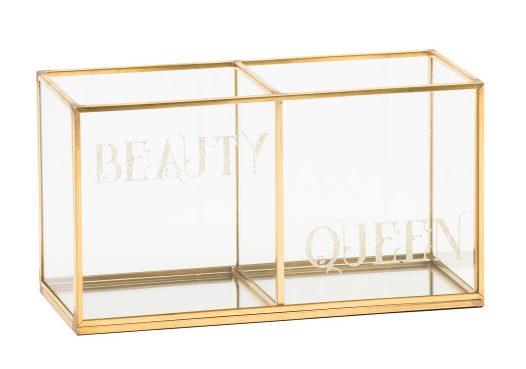 tanger outlets tjmaxx gold beauty organizer
