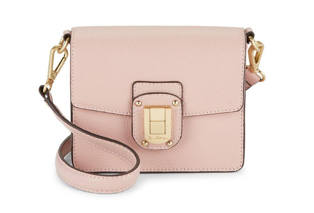 tanger outlets saks off fifth blush leather mini bag