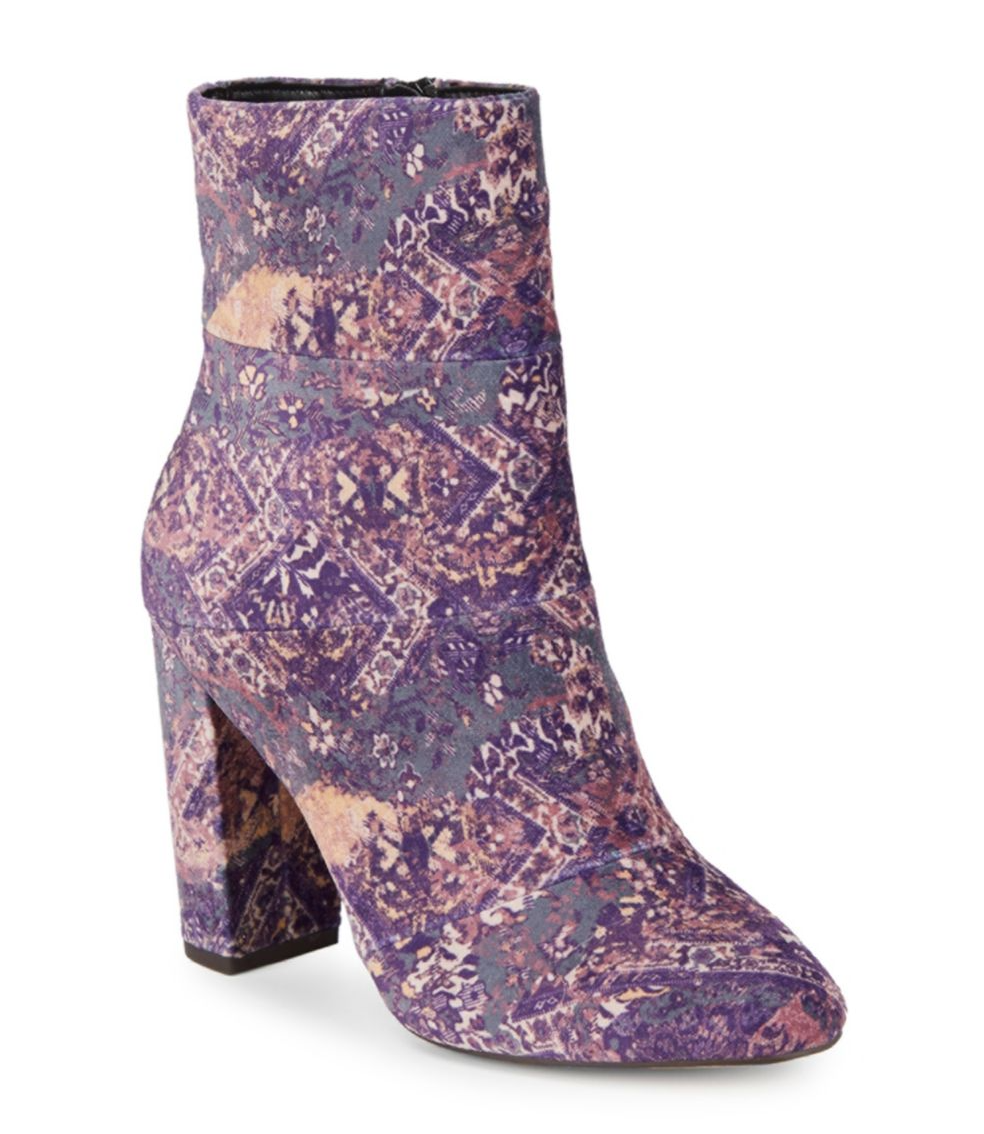 tanger outlets saks off fifth color patterned booties